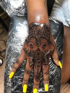 … – foot tattoos for women Dope Tattoos For Women, Black Girls With Tattoos, Tattoos For Women Half Sleeve, Tattoos For Kids, Tattoo Designs For Women, Hand Tattoos For Girls, Tattoos On Hand, Leg Tattoos Women, Hand Tats
