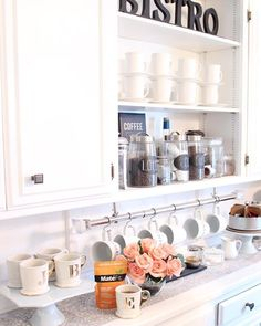 kitchen display + storage