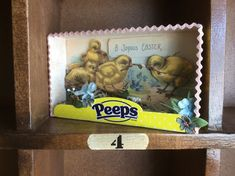 Fresh Vintage by Lisa S: Altered Easter Peeps Box