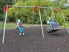 Swing for special needs children