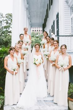 Charleston Weddings - Wickliffe House - Sara Bee Photography - Mint & Neutrals - Lowcountry