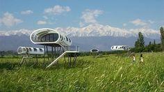 Located in Mendoza, Argentina amid 6,000 meter (19,685 feet) Andes, Entre Cielos is the un...