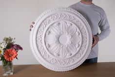 Home, Cornices Centre The best online shop in London. Great selection of plaster cornices, covings, ceiling roses, corbels. We offer a full fitting service. Plaster Cornice, Plaster Molds, Coving, Cornices, Ceiling Rose, Centre, Decorative Plates, Roses, Victorian