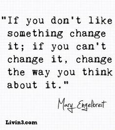 Just change it!