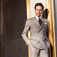 Sartorial splendor from the Scabal Spring/Summer 2015 collection