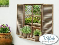 Reflect Garden Mirror - Real Glass Low Distortion Country... https://www.amazon.co.uk/dp/B00LTRHMNQ/ref=cm_sw_r_pi_dp_x_4yRhAb68J6YSB