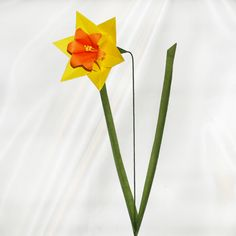 Origami Daffodil - Worldwide Delivery - $6.99