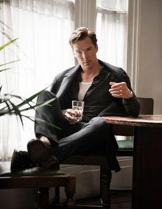 Benedict Cumberbatch for Flaunt Magazine. GUH. via Benedict Cumberbatch blog