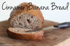 Homemade Cinnamon Banana Bread Recipe   Freezer Friendly