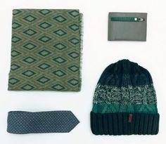 Green Style  Spedizione gratuita Sciarpa €64,40 Cappello €38,50 Cravatta €67,70 Portafogli €90 #manlioboutique Info: WhatsApp 329.0010906