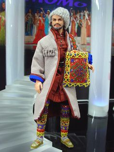 Armenia Ken. (Click and read about the clothing. Interesting.)