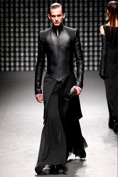 Gareth Pugh, one of the designers listed as a source of inspiration for the…