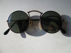 Sunglasses John Lennon Style Glasses 70s Vintage Round Hippie Retro New 6