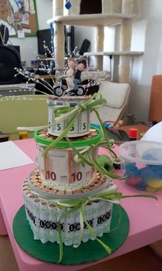 The 10 most beautiful homemade gifts for weddings, birthdays and / or anniversaries! - DIY craft ideas - Sonja Siemer - Yeni Dizi The 10 most beautiful homemade gifts for weddings, birthdays and / or anniversaries! Craft Gifts, Diy Gifts, Diy Wedding, Wedding Gifts, Trendy Wedding, Wedding Cake, Creative Money Gifts, Money Cake, Diy Presents