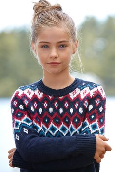 patterned crew sweater | a comfy layer featuring a crewneck, ribbed trims and pattern detailing | abercrombiekids.com