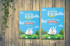 Instant Download Easter Flyer Template Easter by TemplateStock