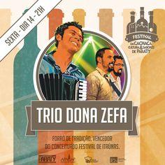 E o 2º dia do 33º Festival da Cachaça, Cultura e Sabores de Paraty fica por conta deles:  Trio Dona Zefa Ultravolts  Não perca!!!  #FestivalDaCachaça #FestivalDaCachaçaParaty #FestivalDaPinga #FestivalDaPingaParaty #cachaça #CachaçaParaty #pinga #festival #música #evento #cultura #turismo #arte #VisiteParaty #TurismoParaty #Paraty #PousadaDoCareca #FestivalDaCachaçaCulturaESabores #FestivalDaCachaçaCulturaESaboresParaty #Apacap #ApacapParaty