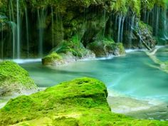 Image detail for -Conocer España: El nacedero del Urederra , Navarra Natural Showers, Natural Park, Basque Country, Pamplona, What A Wonderful World, Beautiful Places To Visit, Wonders Of The World, Tourism, Waterfall