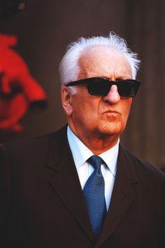 Enzo Ferrari (il Commendatore) - The founder of the Scuderia Ferrari.
