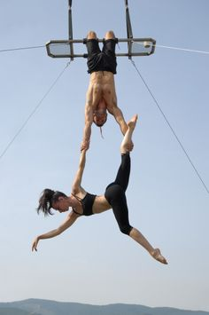 I've done the trapeze school when it was in Baltimore. Wish we had one nearby!