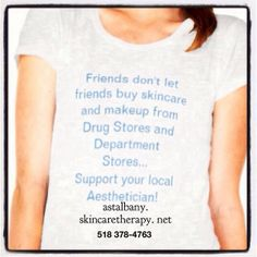 Supporting local estheticians