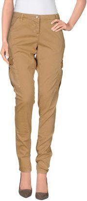 TWIN-SET SIMONA BARBIERI Casual pants - Shop for women's Pants - Camel Pants