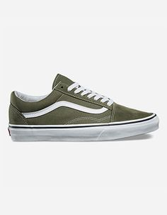 c7e7b07668 VANS Old Skool Shoes Green Vans Vertes
