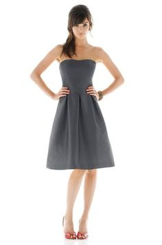 Alfred Sung D438 Bridesmaid Dress | Weddington Way