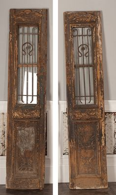 I want front doors like this, maybe stained darker and not so old looking, but you get the point.