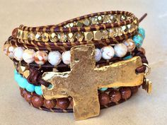 Hope... Wrapped in Faith bracelet by Tesoribydmarie on Etsy