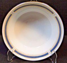 """Noritake Blue Dawn Round Serving Bowl 9"""" 6611 EXCELLENT! #Noritake"""