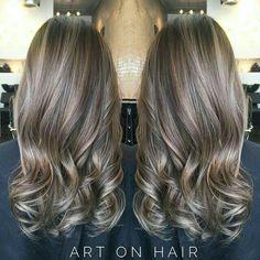 Sand Blonde Hair, Balayage Hair Blonde, Brown Blonde Hair, Gray Balayage, Sandy Blonde, Blonde Brunette, Haircolor, Sleek Hairstyles, Pretty Hairstyles