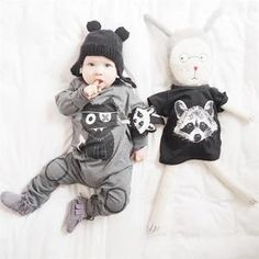 Big Big Wolf Baby Boy Rompers Newborn Jumpsuits Bebe Roupas Baby Girl Clothes Cotton Fashion Cartoon Clothing For Baby Cute Baby Boy, Baby Boy Romper, Baby Boy Newborn, Baby Bodysuit, Baby Kids, Baby Rompers, Fun Baby, Toddler Girls, Cartoon Outfits