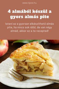 Készítsd el az isteni pitét! #almaspite #desszert #gyorspite