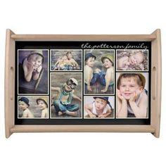 photo collage tray
