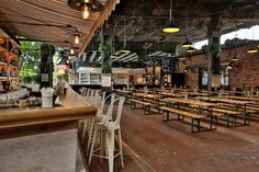(Courtesy of The Standard)In a city that skews towards all things glamorous, finding a relaxed, low-key hangout is crucial. The Biergarten at the Standard, High Line, located in Manhattan's Meatpack...