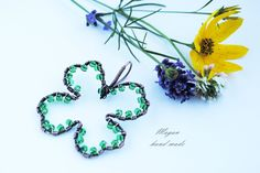 #koniczyna #clover https://www.facebook.com/pages/Magan-hand-made/558162157567690?ref_type=bookmark