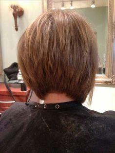 gorgeous A line bob..back view!