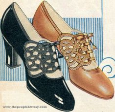 The well-shod Flapper.- totally look like a russell shoe!