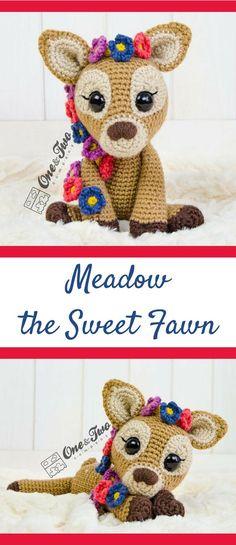 Meadow the Sweet Fawn Amigurumi Deer Crochet Pattern Printable PDF #ad #amigurumi #amigurumidoll #amigurumipattern #amigurumitoy #amigurumiaddict #crochet #crocheting #crochetpattern #pattern #patternsforcrochet #printable #instantdownload #amigurumilove #crochettoys #pdf #deer #fawn #downloadandprint