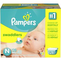 The best newborn diapers. We went through 4 or 5 128 count boxes before she  grew out of them. Pampers Swaddlers Disposable Diapers Newborn Size N lb),  ... 9abcea9f88c