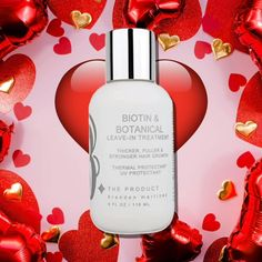#love is in your #hair!! Get our #biotin #hairtreatment for 15% off with code-valentine2021. Available @btheproduct.