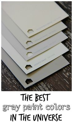 the best gray paint colors in the universe/ thistlewood farms