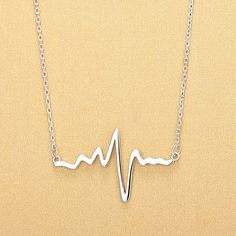 Aliexpress.com : Buy 2017 brand Mini heartbeat Necklace women stainless steel charms Origin fashion heart beat necklaces for female Necklace from Reliable Pendant Necklaces suppliers on ModaOne Jewellery Store