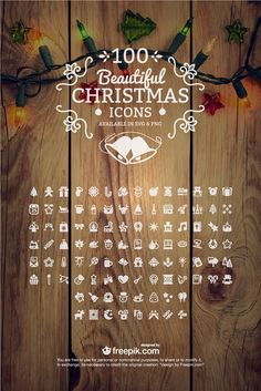 100 Free Christmas Icons