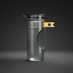 Crescent Carafe - Designed by Joshua Flowers  #solidworks #keyshot #cinema4d #c4d #octane #render #octanerender #3d #photoshop #weekly #product #design #productdesign #concept #industrialdesign #id #designer #minimalism