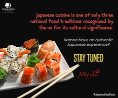 Wanna enjoy amazing Japanese delicacies? Stay tuned. 1 day to go...