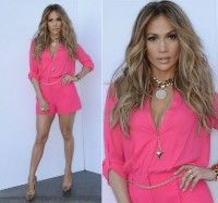 """Jennifer Lopez attracts attention with short creations on """"American Idol""""  """
