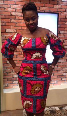 Ankara fashion dress Ankara Dress Styles, African Print Dresses, African Print Fashion, African Fashion Dresses, African Dress, Ankara Fashion, African Attire, African Wear, African Style