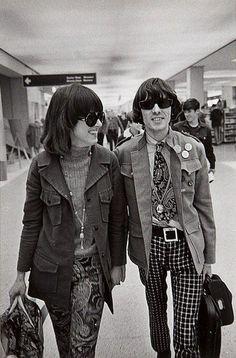 Grace Slick and Spencer Dryden, 1967. Jim Marshall